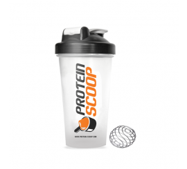 PROTEIN SCOOP SHAKER- BLACK & WHITE